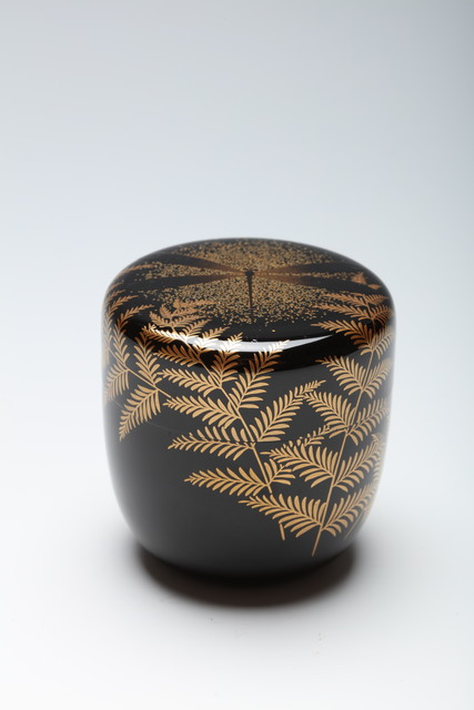 , 'Tea Caddy with Dragonfly and Ferns (T-4365),' Showa (1926–1898)-1980s, Erik Thomsen