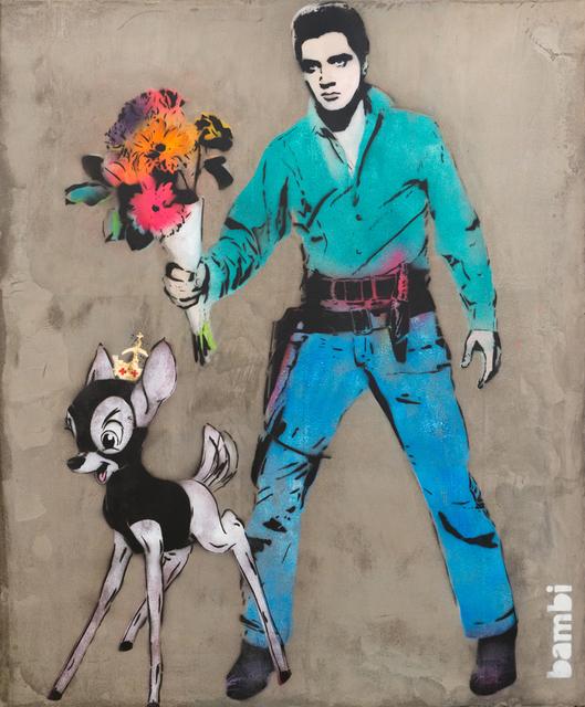 Bambi, 'Elvis with Flowers', 2015, Corridor Contemporary