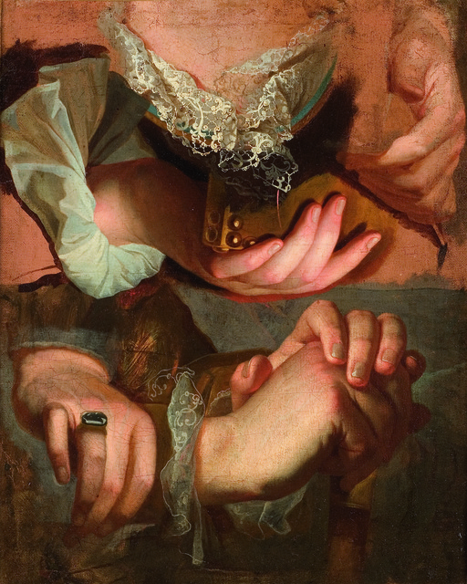 , 'Étude de mains,' 1715-1723, RMN Grand Palais