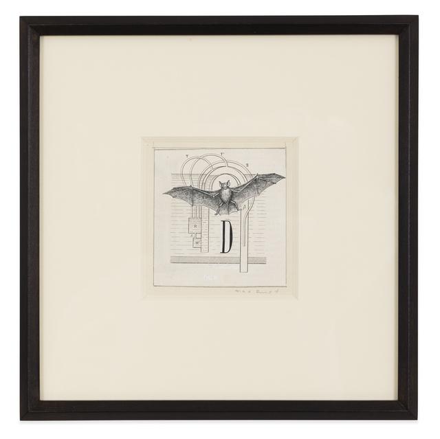 Max Ernst, 'Lettrine D', 1974, Kasmin