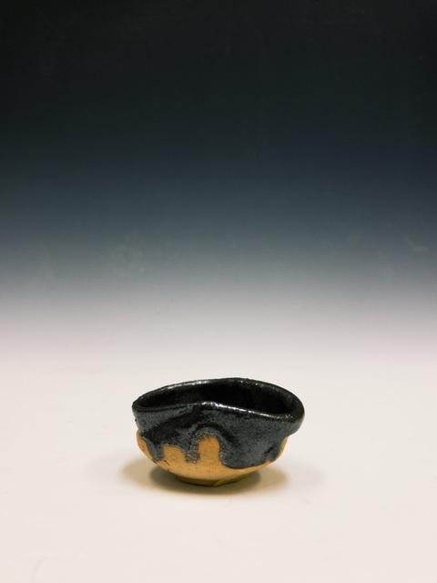 , '織部黒ぐい呑, Sake-cup (Oribeguro-style),' 2000-2016, Kamiya Art