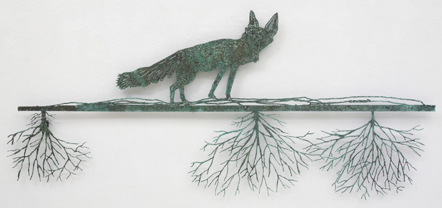 , 'Fox on the Ground,' 2004, Blondeau & Cie
