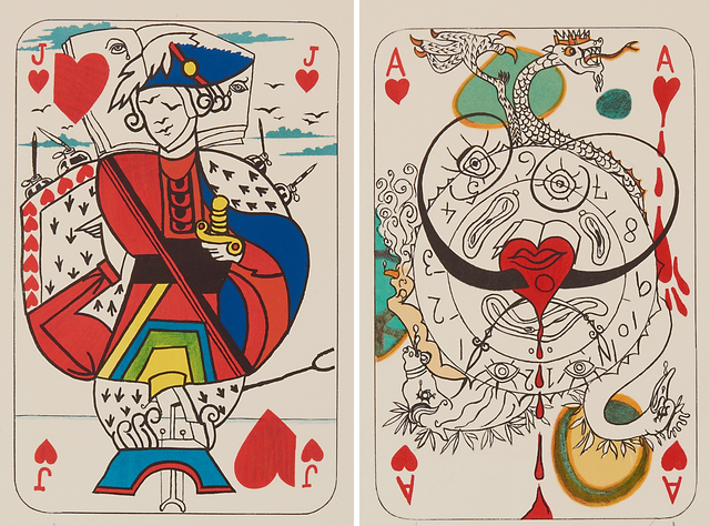 Salvador Dalí, 'Ace of Hearts and Jack of Hearts from Playing Cards', 1967, Rago