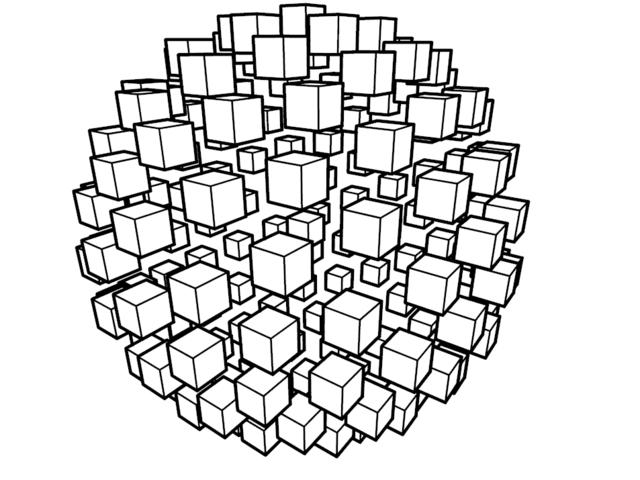 , 'Esfera Cubos 02,' 2017, Artscape Lab
