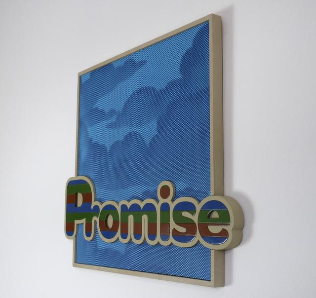 Tarmac, 'Empty Promise', 2020, Painting, MDF, Primer, Spray paint, Acrylic, Daniel Raphael