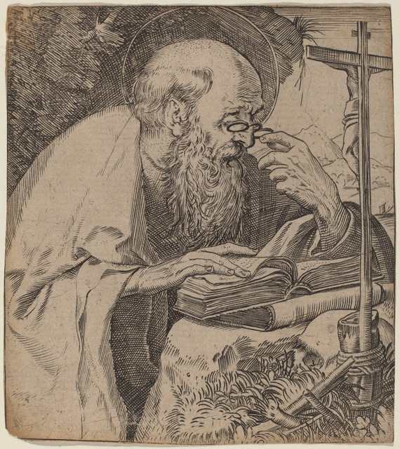 Saint Jerome - Annibale Carracci - WikiGallery.org, the
