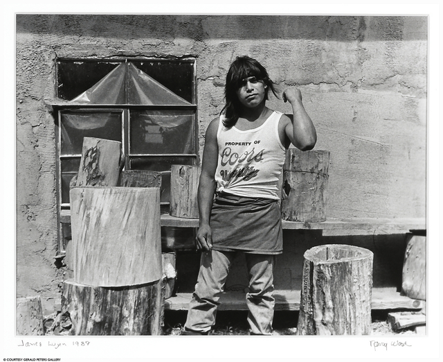 Nancy Wood, 'James Lujan', 1989, Gerald Peters Gallery
