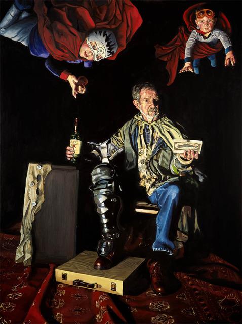 , 'The Lamentation of James Edgar Kurtz,' 2013, Childs Gallery