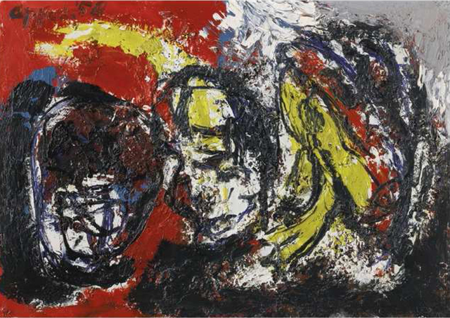 Karel Appel, 'Untitled', 1958, Artissima Art Gallery