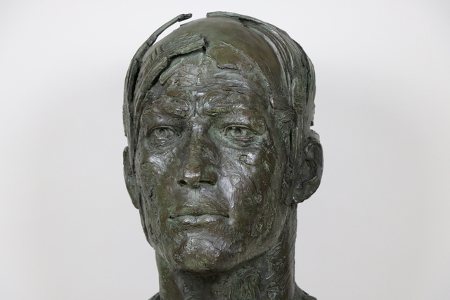 Christophe Charbonnel, 'Le Messager', 2014, Sculpture, Bronze, Galerie Bayart