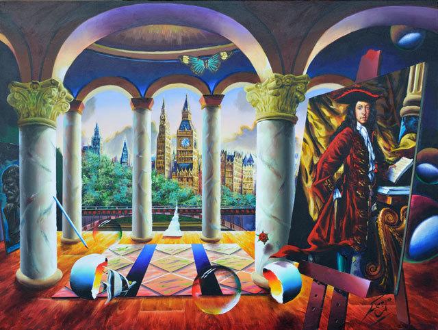 , 'Symphony in London,' , LaMantia Fine Art Inc.