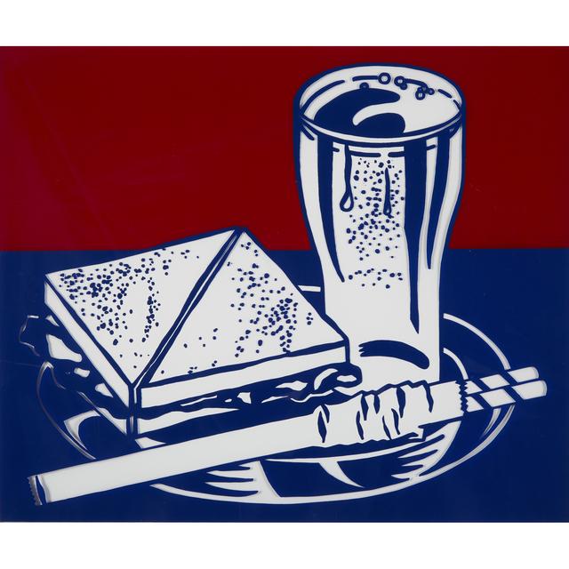 Roy Lichtenstein, 'Sandwich and Soda from X + X (Ten Works by Ten Painters)', 1964, Freeman's