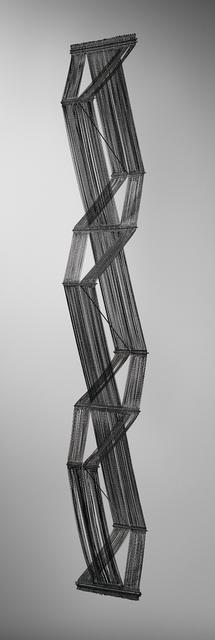 Peter Collingwood, 'Unique prototype '3-Dimensional Macrogauze', model no. M.STEEL/2, designed for the Kiryu Performing Arts Centre', ca. 1996, Phillips