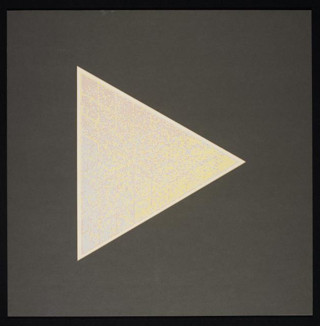 , 'Triangular Tonal Drawing,' 1980, DAM Gallery