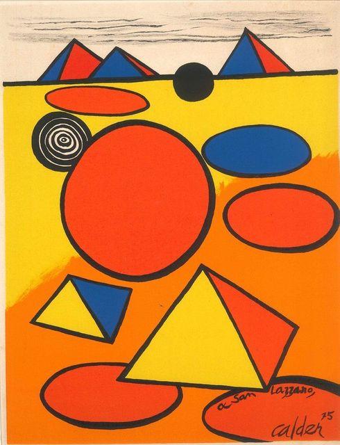 Alexander Calder, 'Hommage à San Lazzaro', 1975, Wallector