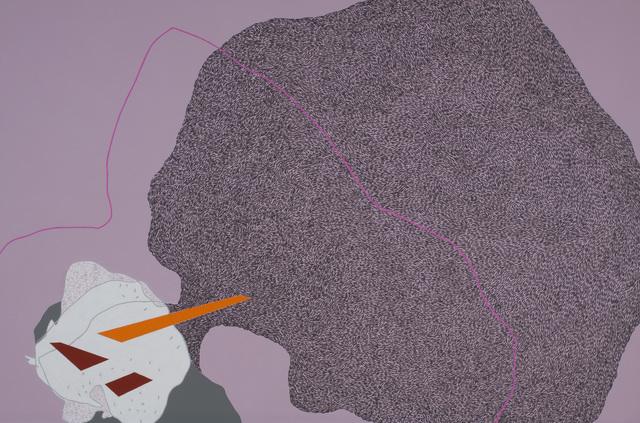 , 'Urban histology-pink line,' 2014, Faur Zsofi Gallery
