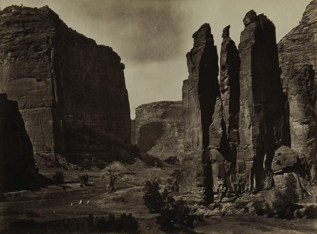 , 'Cañon de Chelle,' 1870-1874, San Francisco Museum of Modern Art (SFMOMA)