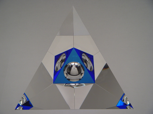 Jan Frydrych, 'Pyramid in a triangle', 2008, Galerie Kuzebauch