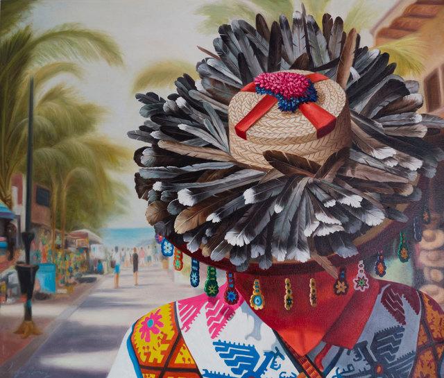 Sergio Gomez, 'Huichol en Sayulita', 2018, Galería Corsica