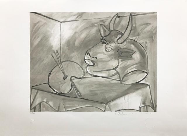 Pablo Picasso, 'NATURE MORTE A LA PALETTE ET A LA TETE', 1979-1982, Gallery Art