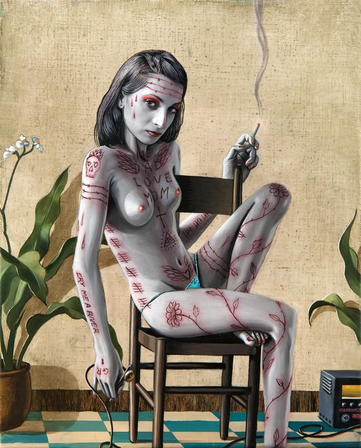 , 'Gisela,' 2015, Galeria Senda