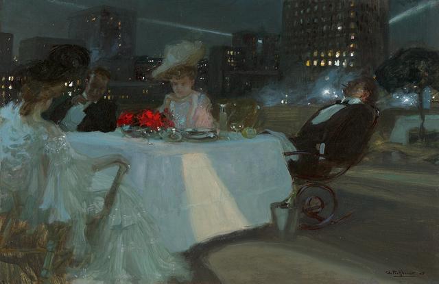 , 'Dîner sur le Toit,' 1905, Questroyal Fine Art