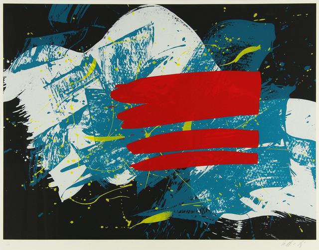Kazuo Shiraga, 'Red Flag', 1993, Der-Horng Art Gallery