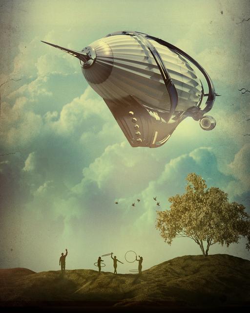, 'Zeppelin,' 2016, Bitfactory Gallery