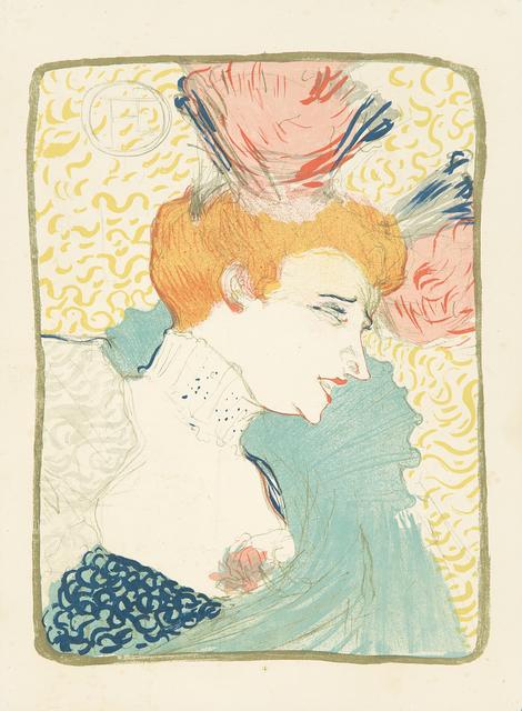 , 'Marcelle Lender, en Buste.,' 1895, Rennert's Gallery