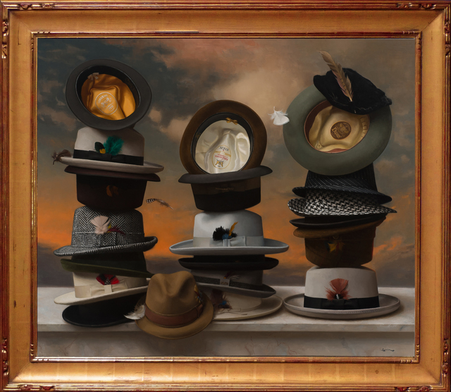 , '21 Hats,' 2017, ARCADIA CONTEMPORARY