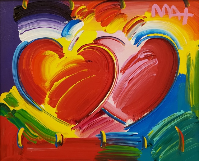 , 'Two Hearts ,' 2019, Off The Wall Gallery