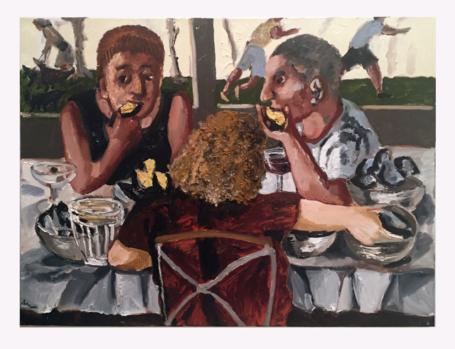 , 'Last Supper,' 2016, Hal Bromm