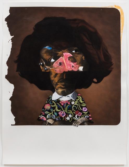 , 'Ms. Lykes,' 2015, Rhona Hoffman Gallery
