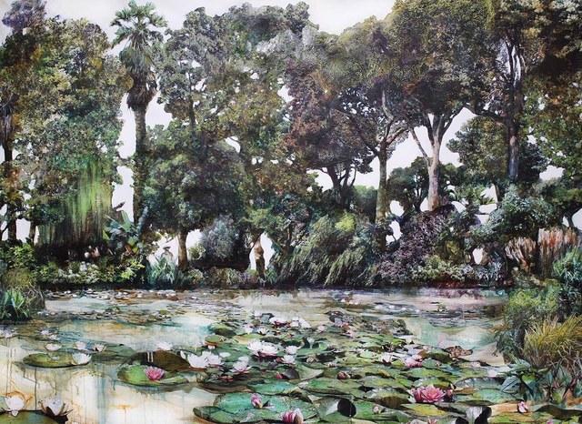 , 'After Monet Garden,' 2018, GALLERI RAMFJORD