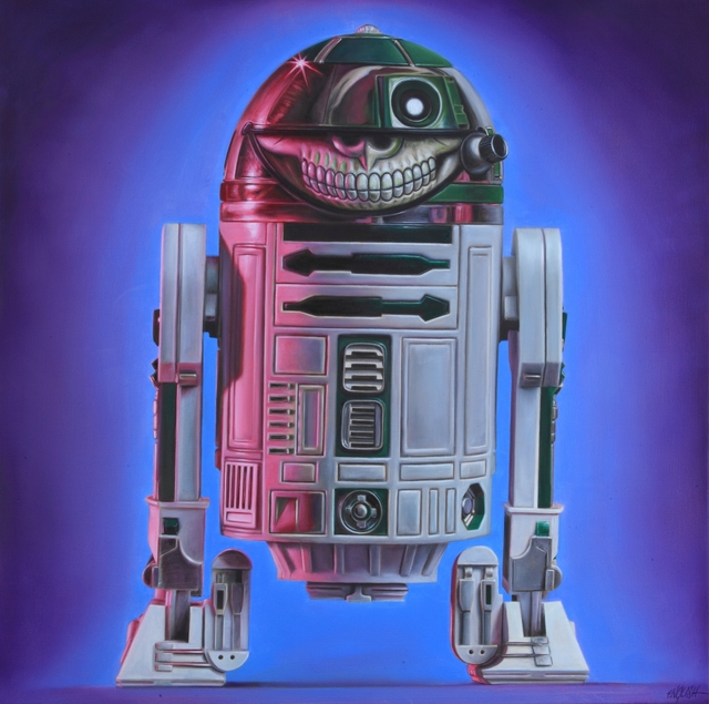 , 'R2D2 Grin,' 2015, Joseph Gross Gallery