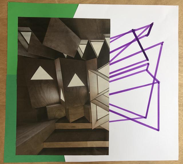 Xavier Veilhan, 'Collage n°14', 2018, Andréhn-Schiptjenko
