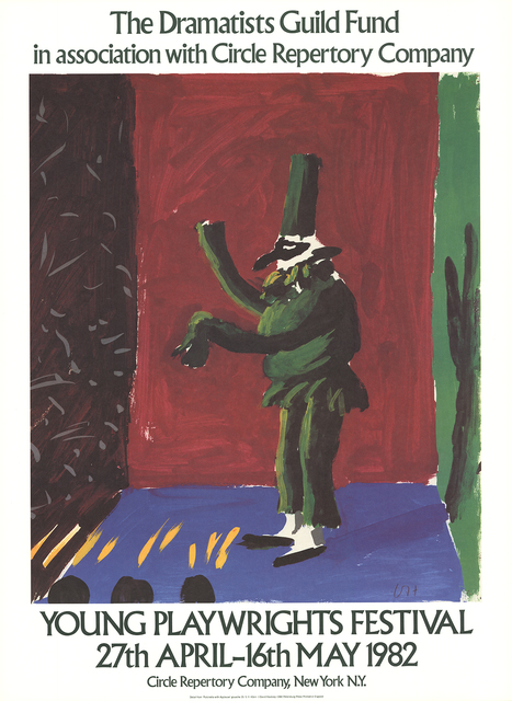 David Hockney, 'Detail from Pulcinella With Applause', 1982, ArtWise