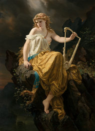 Muse with a Lyre