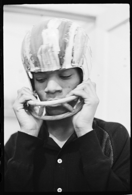 , 'Basquiat performing in the apartment I,' ca. 1979-1980, CaribBeing