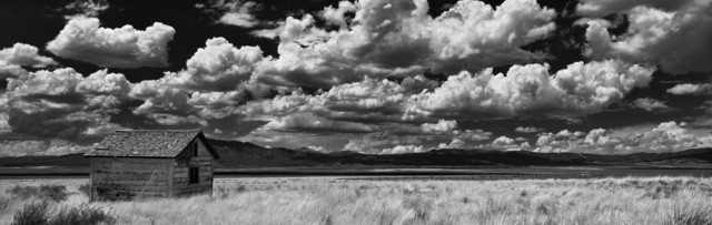 Cody S. Brothers, 'Black & White, Panoramic Photography: 'Harbeck Ranch, NV'', 2018, Ivy Brown Gallery