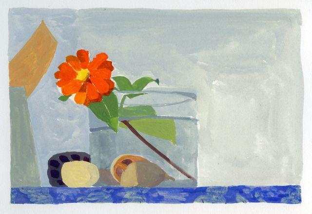 Sydney Licht, 'Still Life with Zinnia', ca. 2015, Thomas Deans Fine Art