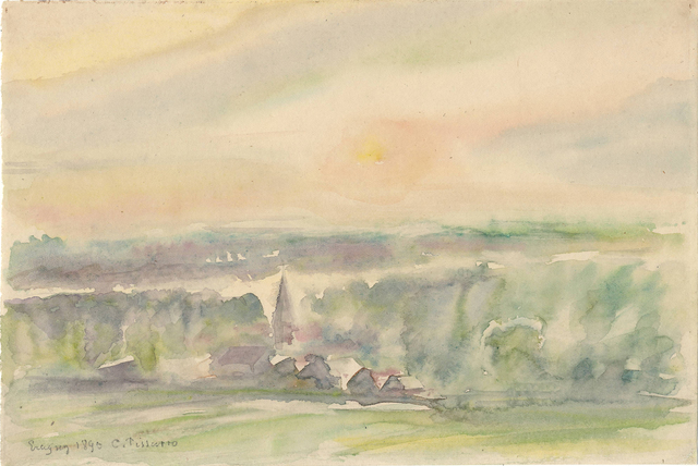 , 'Eragny,' 1890, Jill Newhouse Gallery