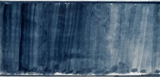 John Zurier, 'Iceland (Indigo) 2', 2011, Anglim Gilbert Gallery