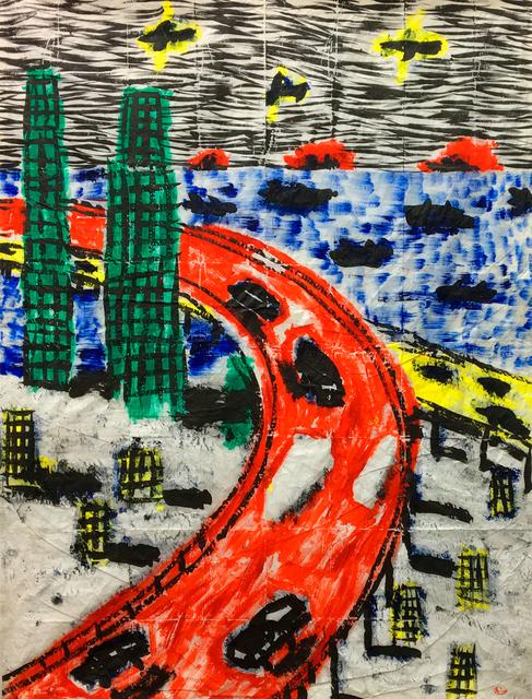 , 'Viaduc de Vilvorde,' 90s, Galerie Zwart Huis