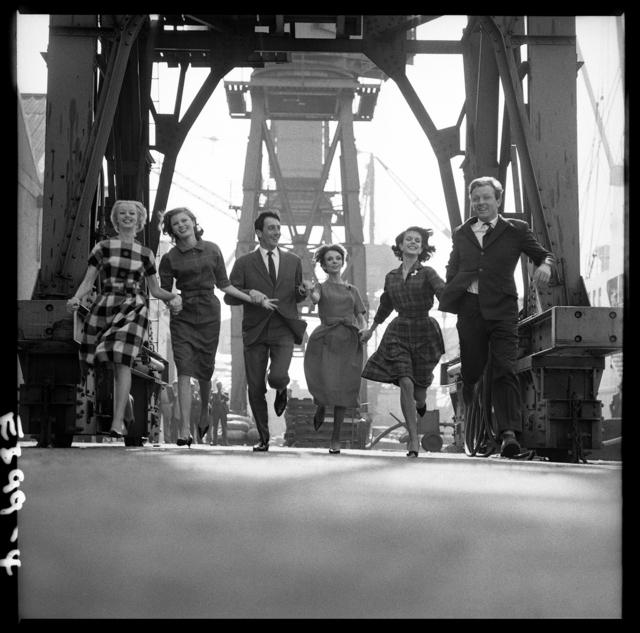 , 'Fashion in Docks, London,' 1960, Holden Luntz Gallery