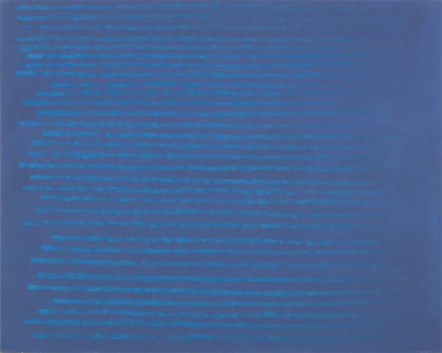 , 'Sea Blue on Grey Blue,' 2014, Annely Juda Fine Art