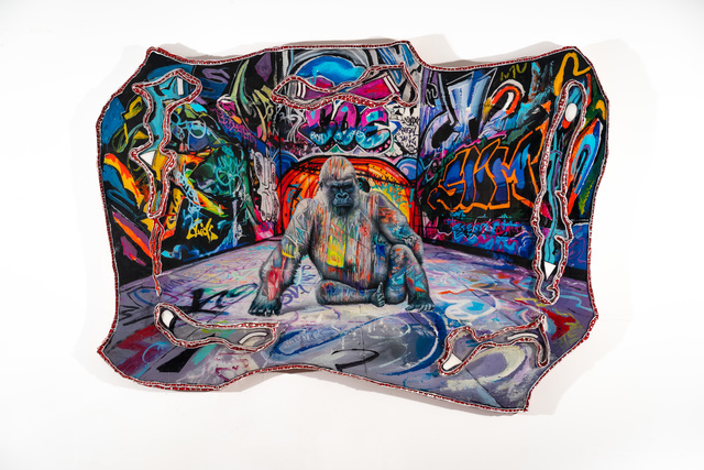 , 'Graffiti-Backed Alpha,' 2019, VK Gallery
