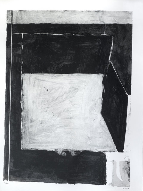 , 'Black and Grey,' 1984, Eckert Fine Art