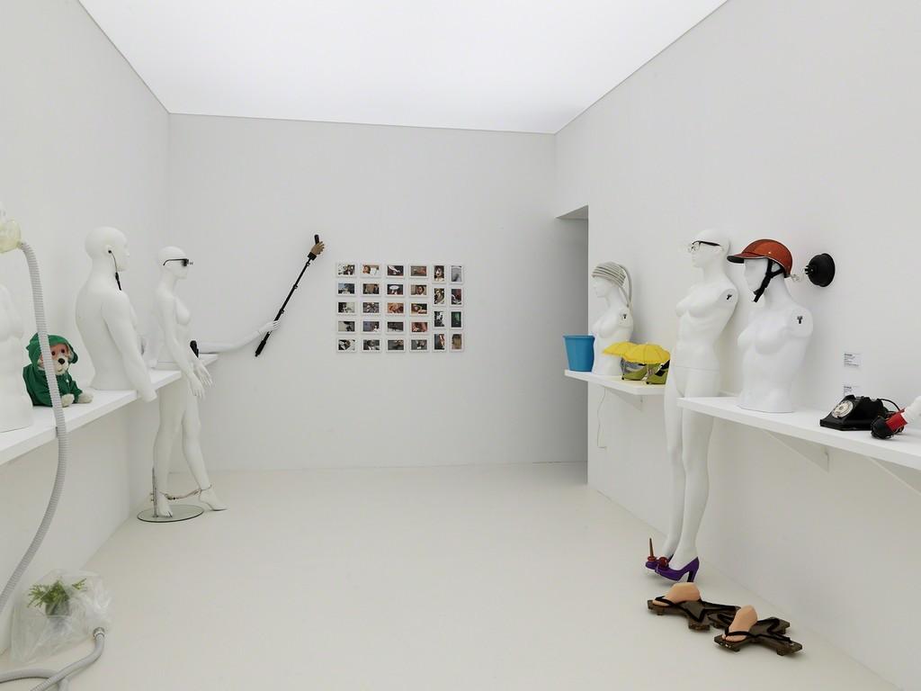 """Exhibition view of """"Le Bord des Mondes"""", Palais de Tokyo, 2015. Photo : André Morin."""