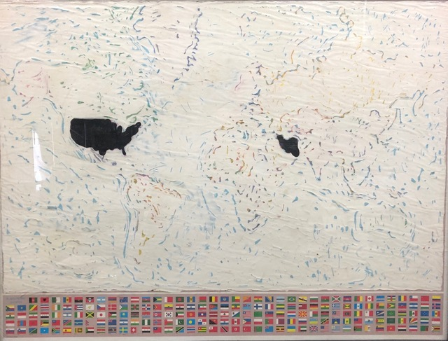 , 'World Map,' 2019, Advocartsy